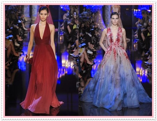 Elie Saab Herbst/Winter Cauture Kollektion​ 2014/2015