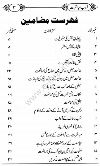 Adab e mubashrat pdf.