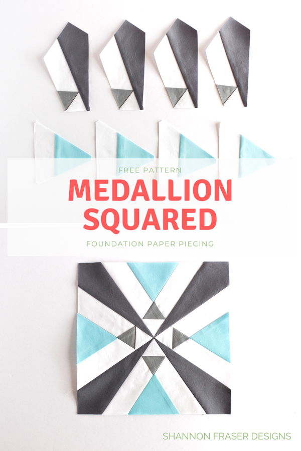 Medallion Squared Quilt | Q3 2018 Finish-A-long Proposed Projects | Shannon Fraser Designs