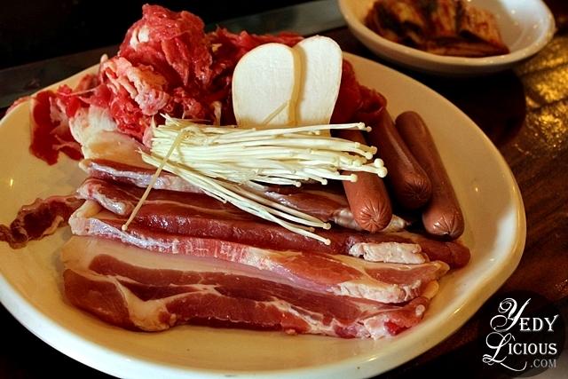 Lee Hak's Set A Meat Platter