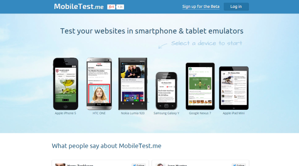 Mobile-test-me