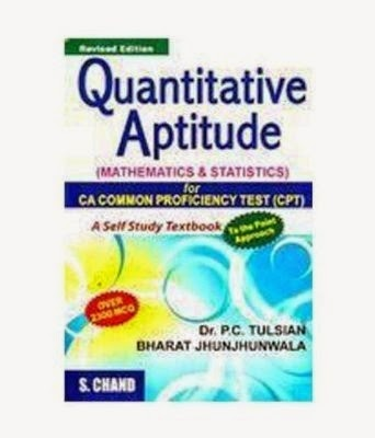 http://www.amazon.in/Quantitative-Aptitude-CPT-Mathematics-Statistics/dp/8121929563/?tag=buybooks0b-21