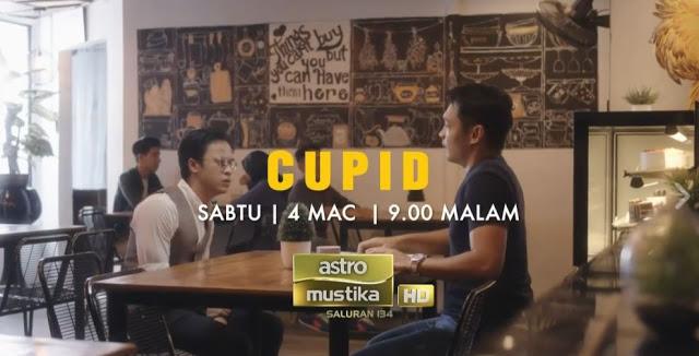 Telemovie Cupid Lakonan Zara Zya dan Hisyam Hamid