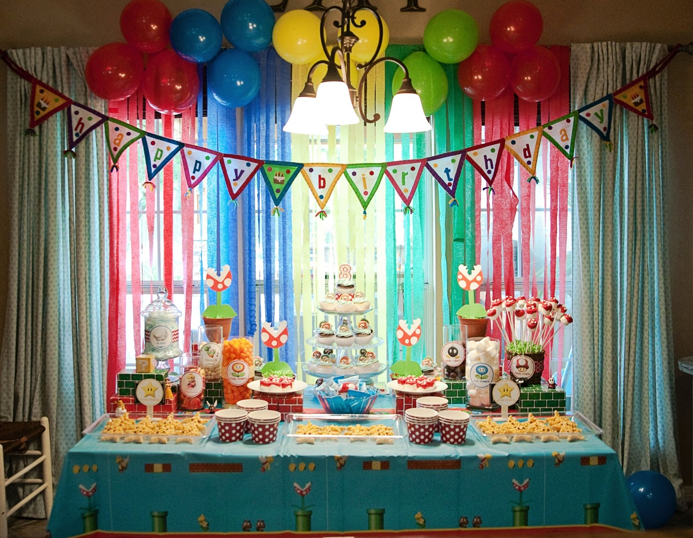 Pearls Handcuffs And Happy Hour Super Mario Bros Birthday Party