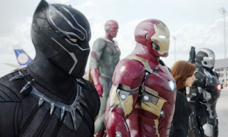 Black Panther and Avengers