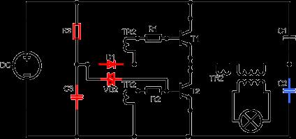 Half Bridge highlighting self starting components