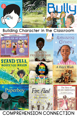 Literature is a teacher's most valuable asset in the classroom. A great book can spark conversation, provide examples for modeling, give comfort, calm a child, and so many other things. In this post, tips are shared for building a positive classroom community and climate Check it out for a free resource and ideas you can use day one.