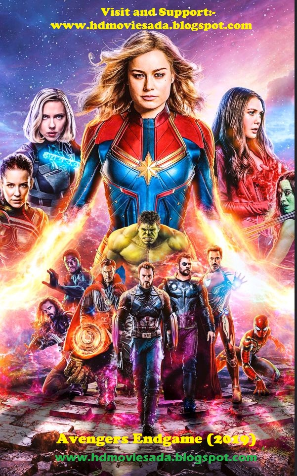 Avengers Endgame 2019 Update Print Audio Clean Hindi 720p Desi Pre Rip x264 AAC Download (Best Print)