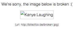 Thiết kế CSS cho hình ảnh bị lỗi