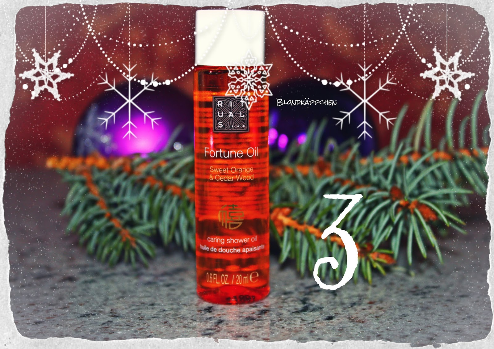 Adventskalender Rituals Blondkäppchen Rituals Adventskalender 2016 Review