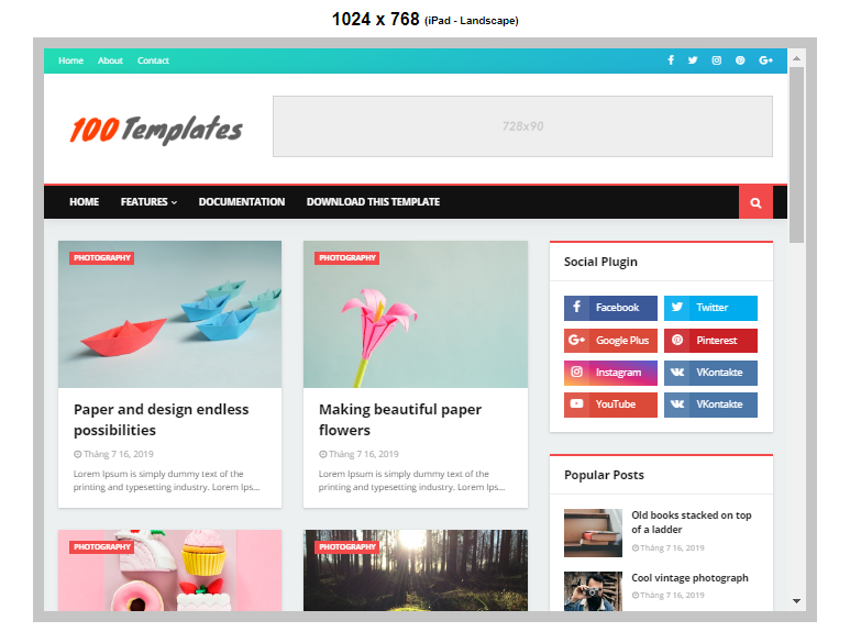 Super Seo Blogger Template Free Download
