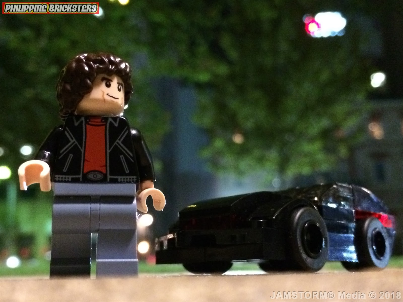 71286 David Hasselhoff LEGO Michael Knight MiniFigure Knight Rider Dimensions