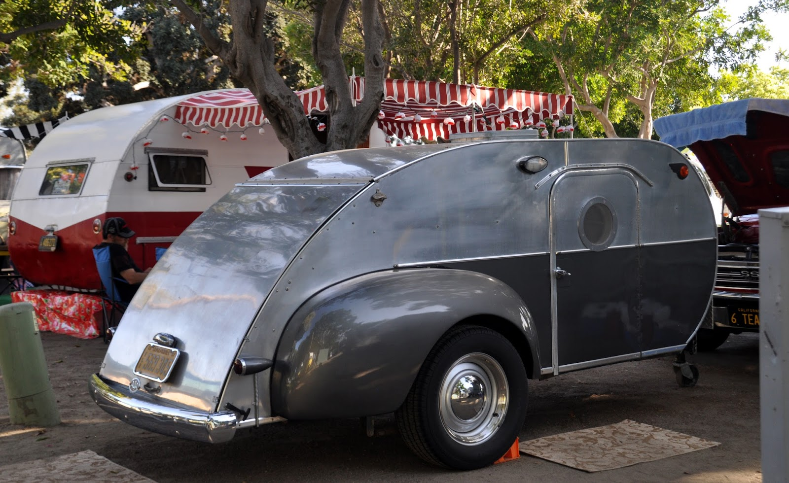 Just A Car Guy: a variety of teardrop trailers I came across