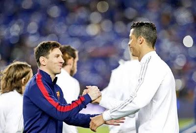 CR7 niega rivalidad con Messi