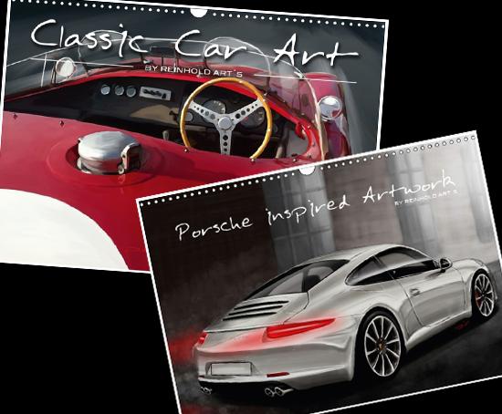 Classic Car Art by Reinhold Art