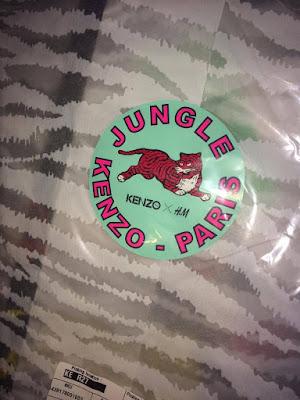 Kenzo X H&M Packaging