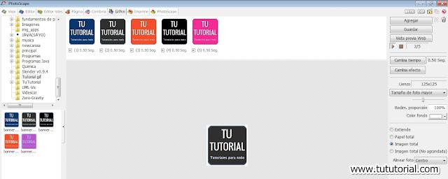 Tutorial para crear GIFs