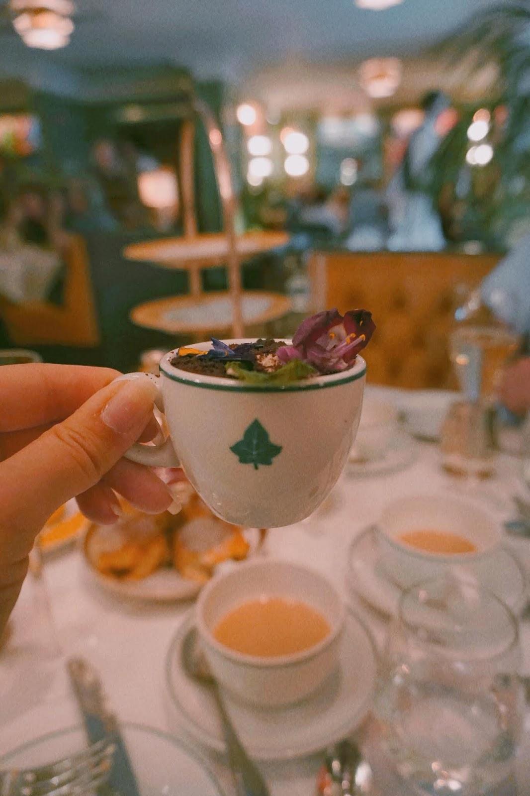 Ivy Marlow Garden Afternoon Tea