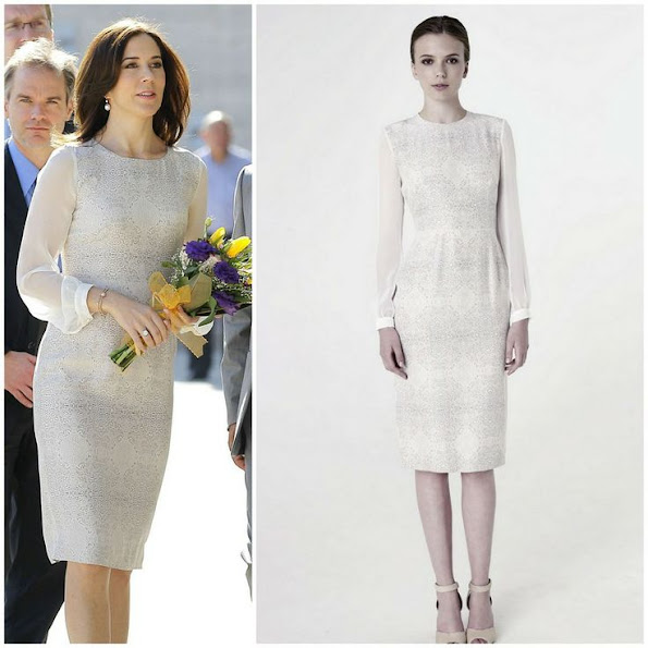 Crown Princess Mary of Denmark wore Elise Gug Lace Dress. Style of Princess Mary