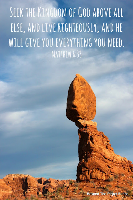 bible verse and devotion on keeping balance in our lives