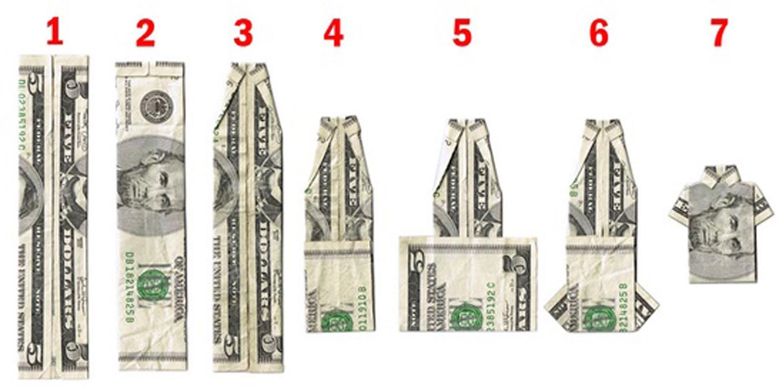money origami diagram msd 6al 2 wiring doodlecraft folding shirt and tie