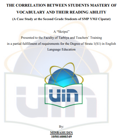 Skripsi Pendidikan Bahasa Inggris Kuantitatif Pdf