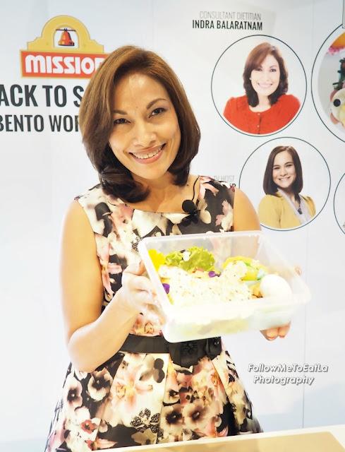 Consultant Dietitian, Indra Balaratnam Recipe ~ Mission Dinosaur Quesadillas Bento