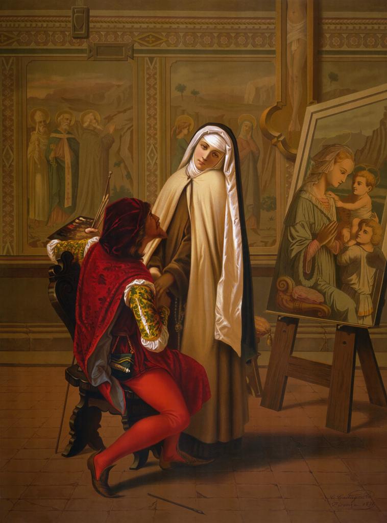 Gabriele Castagnola - Love or Duty 1873