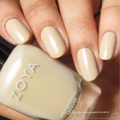 Nail polish swatch of Tatum from the Naturel 3 collection by Zoya