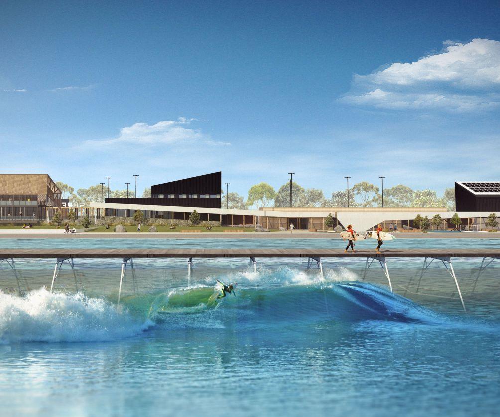 URBNSURF Melbourne firstsurfpark