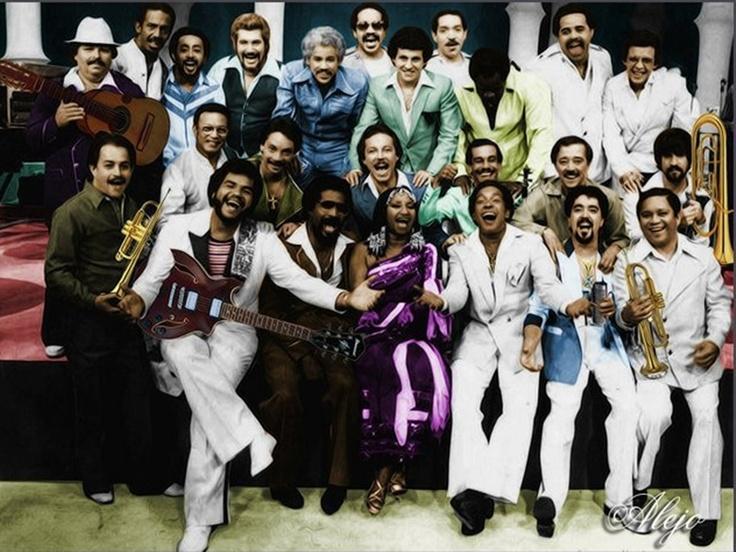 ThessBomb Celia Cruz The Fania All Stars Quimbara