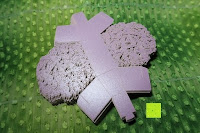 Stapel: 50pcs Wedding Candy Boxes Butterfly Laser Cut Kartonage Schachtel Bonboniere Geschenkbox Hochzeit (Purple)