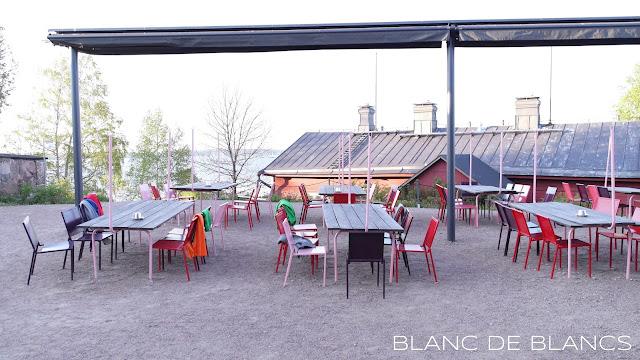 Lonnan terassi - www.blancdeblancs.fi
