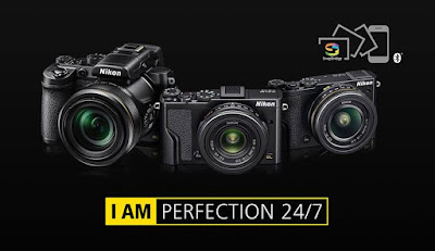 Nikon DL18-50, Nikon  DL24-85, Nikon DL24-500, 4K Ultra HD, SnapBridge, high-speed continues shooting, Wi-Fi, NFC