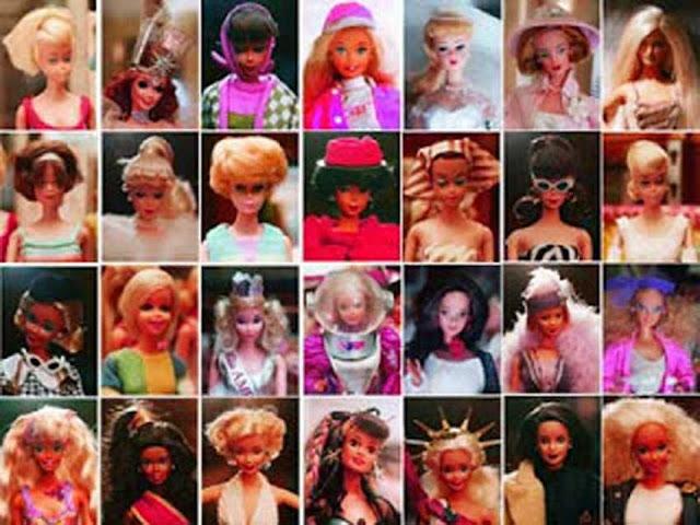 Gambar Macam-macam Boneka Barbie
