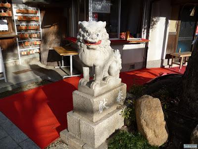 淀川神社狛犬