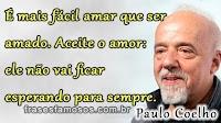 Frases de Paulo Coelho sobre o Amor