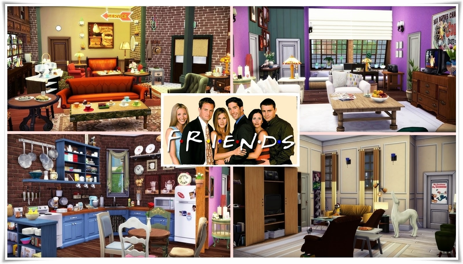 Frau engel ts4 friends 39 apartments for Appartement design sims 3