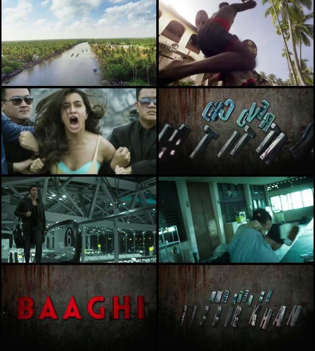 Baaghi Official Trailer 720p HD Download