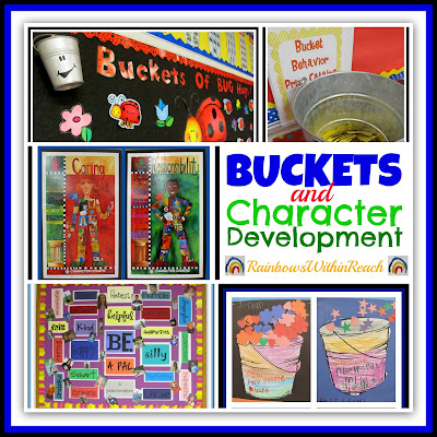 photo of: Buckets and Character Development RoundUP at RAinbowsWithinReach