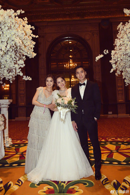 Gillian Chung TWINS bridesmaid Charlene Choi