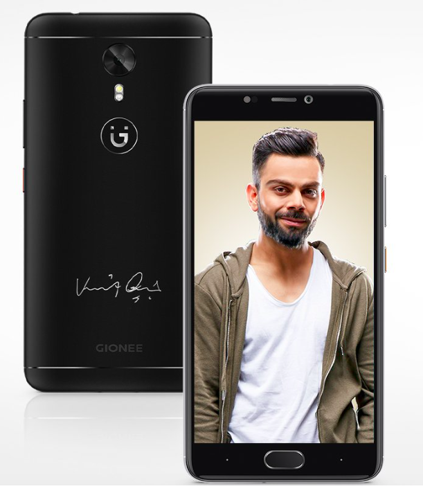 Virat Kohli Signature Edition Gionee A1 Launched in India