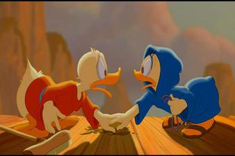 Donald Daisy Duck Fantasia 2000 1999 animatedfilmreviews.filminspector.com