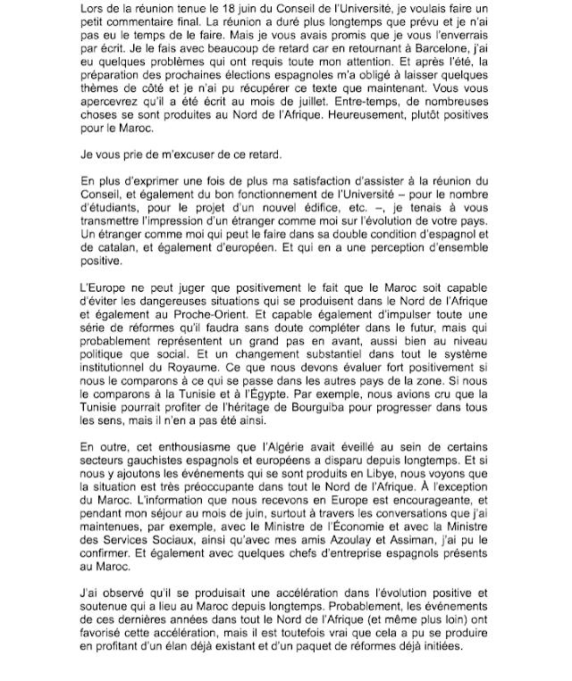 Moroccoleaks : Jordi Pujol hacía lobbying para Marruecos