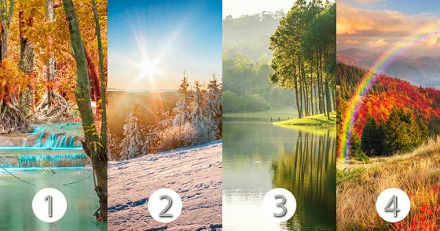 Выберите пейзаж и узнайте основные характеристики вашей эмоциональной психологии!