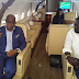 Warri billionaire, Emami Ayiri arrives Abuja in a private jet, meets Bola Tinubu, Lai Mohammed