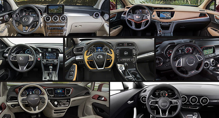 The 10 Best Interiors Of 2016 According To WardsAuto