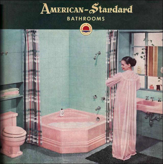 To Da Loos November 2011: To Da Loos: Vintage Pink Bathrooms