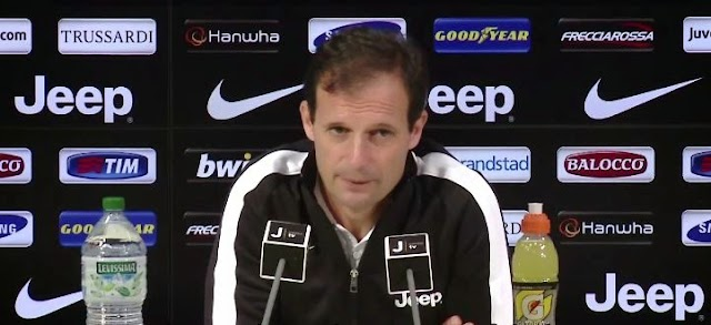 ALLEGRI CONFERENZA STAMPA PRE GENOA JUVENTUS -VIDEO-