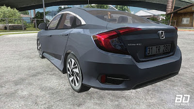 Download mod carro Honda Civic FC5 [Low Poly] para GTA San Andreas